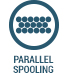 Parallel spooling